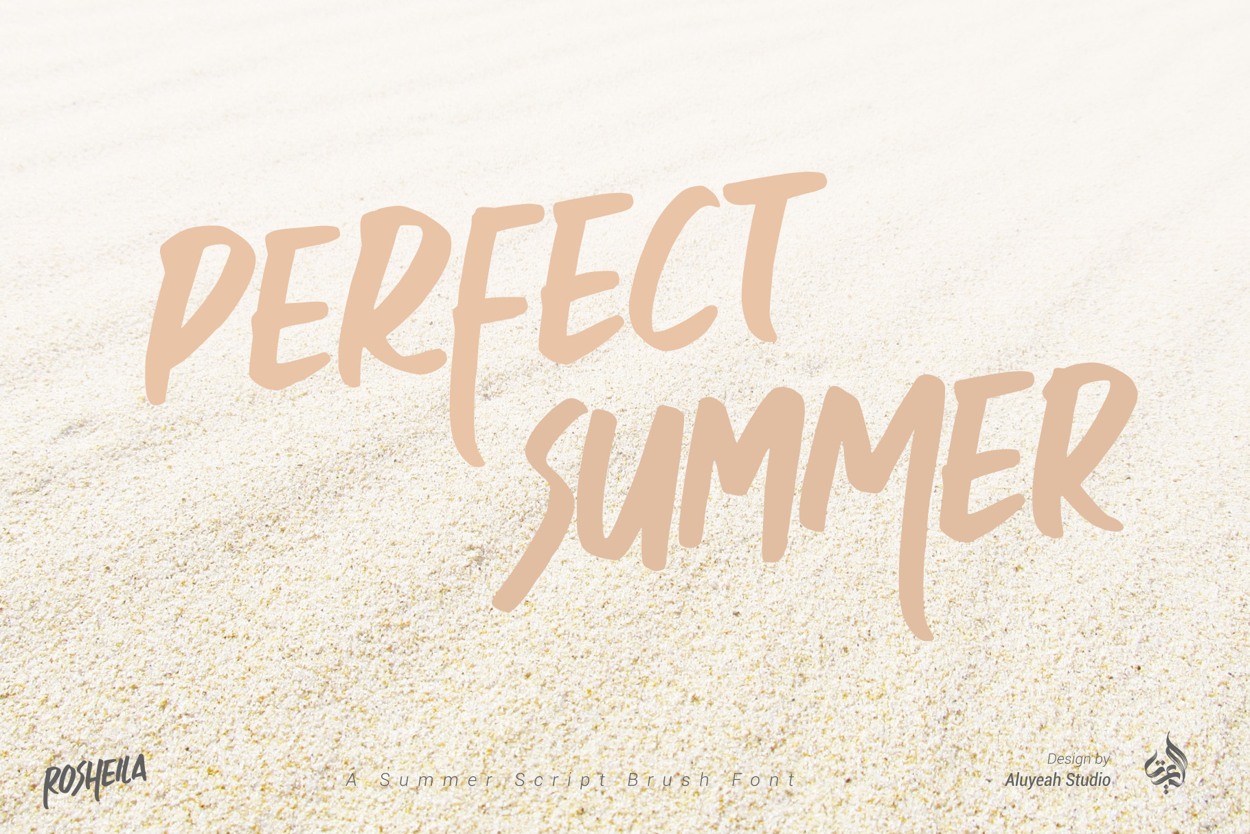 Rosheila summer font