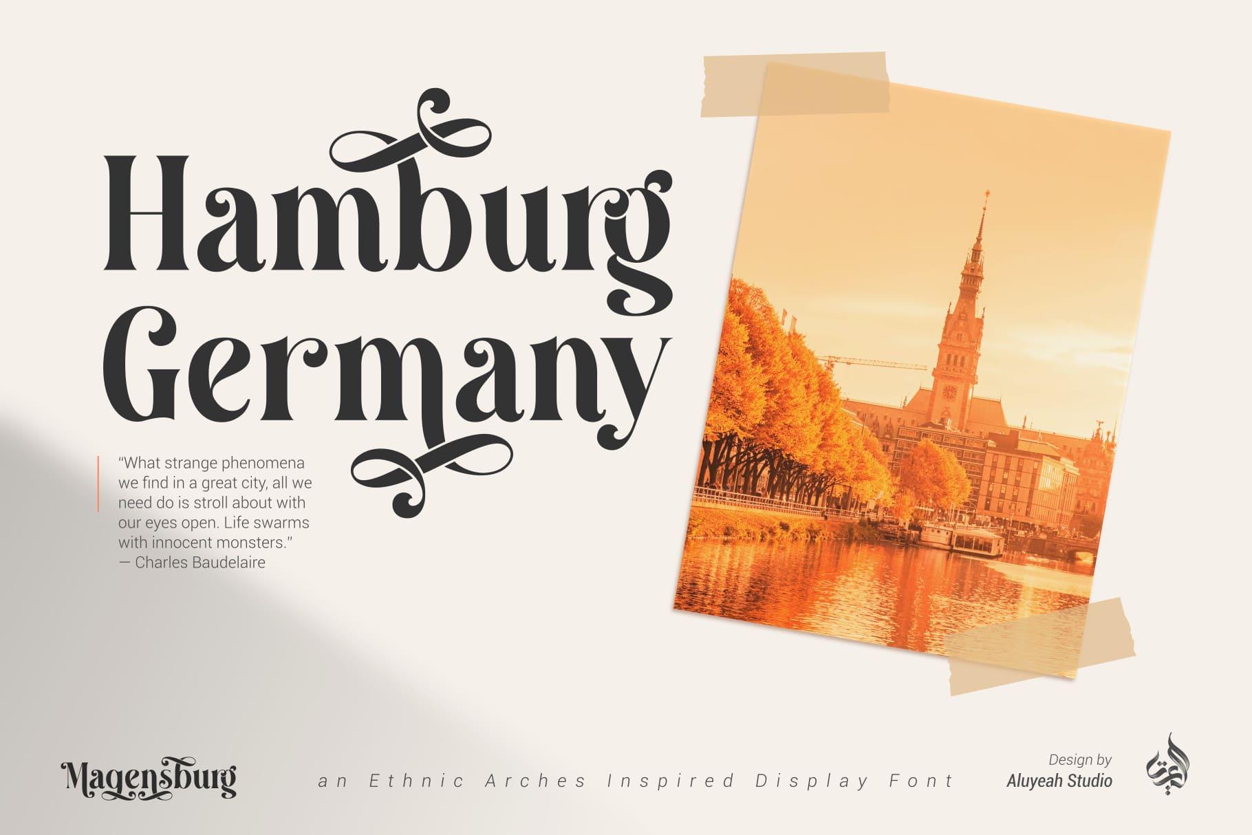 Font Magensburg